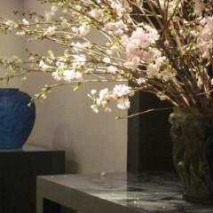 3月のラリックと花